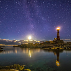 Starlight by Richard Larssen - Landscapes Starscapes