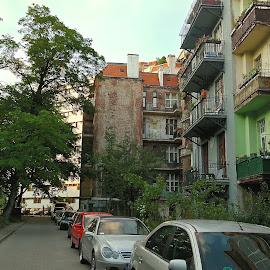 by Basia Lewandowski - City,  Street & Park  Street Scenes