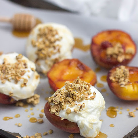 Grilled Peach Parfaits