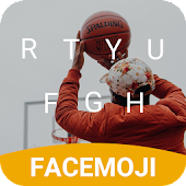 Free Basketball Hangouts Emoji Keyboard Theme for pof APK for Windows 8