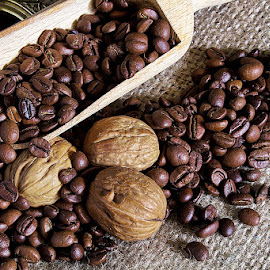 Cafe Time..! by Riad Zbeida - Food & Drink Alcohol & Drinks ( colorful, coffee, nuts, cafe )