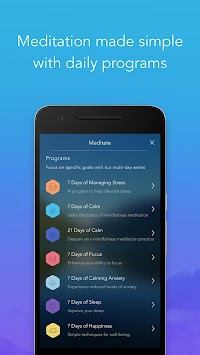 Calm - Meditate, Sleep, Relax APK screenshot thumbnail 7