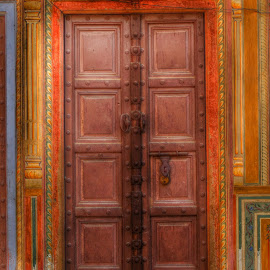 Wooden Door.. by Amol Verma - Artistic Objects Other Objects ( doors, wooden, hdr, wood, door, woods )