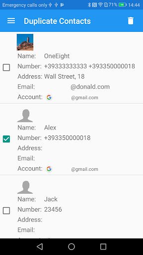 Duplicate Contacts screenshot 4