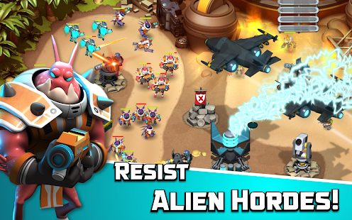 Alien Creeps TD APK for iPhone