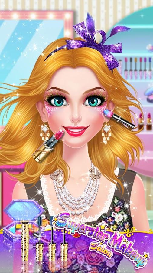 Superstar Makeup Salon - Mädchen verkleiden android spiele download