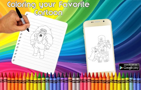 App Coloring Steve Univer Pages APK for Windows Phone