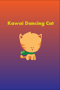 Kawai Dancing Cat - screenshot