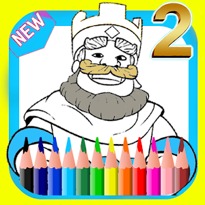 App Coloring Book For Clash Royale APK For Windows Phone