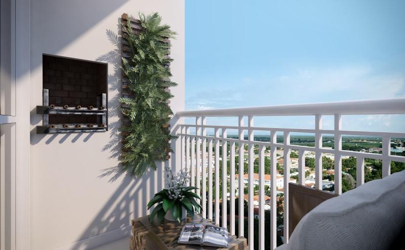 Apartamento com 2 dormitórios à venda, 50 m² por R$ 192.828 - Residencial Villa Rutini - Centro - Itupeva/SP