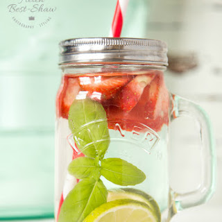 The Post Workout Strawberry & Basil Infused Water Quencher