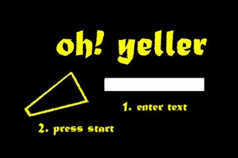 Oh!Yeller - screenshot