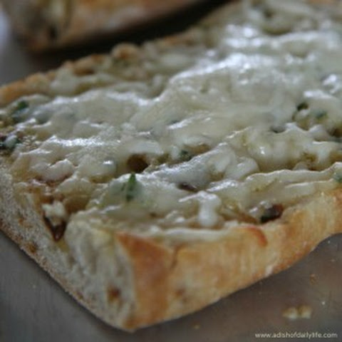 Four Cheese Roasted Garlic Bread