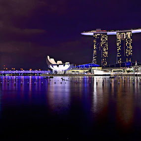 Marina Bay Sands Singapore by Hussin Mohd Nor - Buildings & Architecture Office Buildings & Hotels