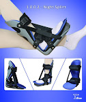 Surgical Adjustable Plantar Fasciitis Posterior Night Splint-1002
