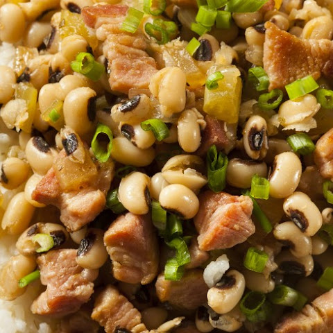 Black-Eyed Peas and Hog Jowl