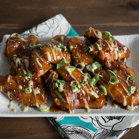 Melt Your Face Off Spicy Asian Baked Chicken Wings