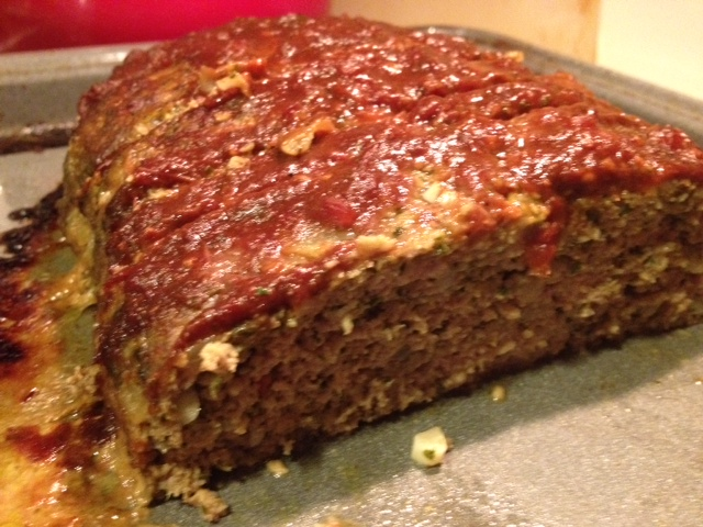 Turkey Pesto Meatloaf with Balsamic Tomato Sauce Recipe | Yummly