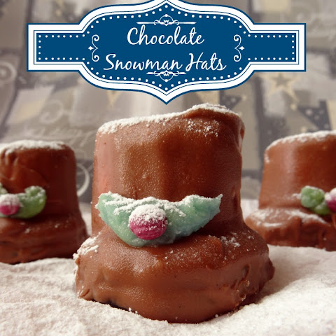 Chocolate Snowman Hat Candies