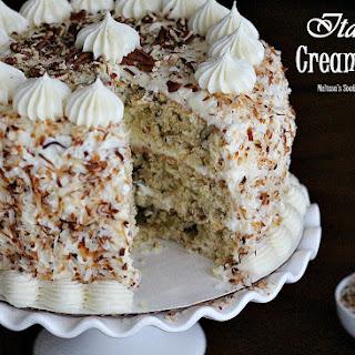 Toasted Almond Italian Cream Cake Recipes