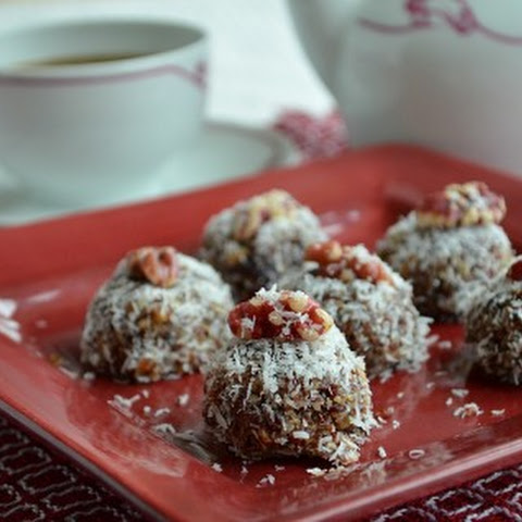 Cherry-Walnut-Coconut Bites