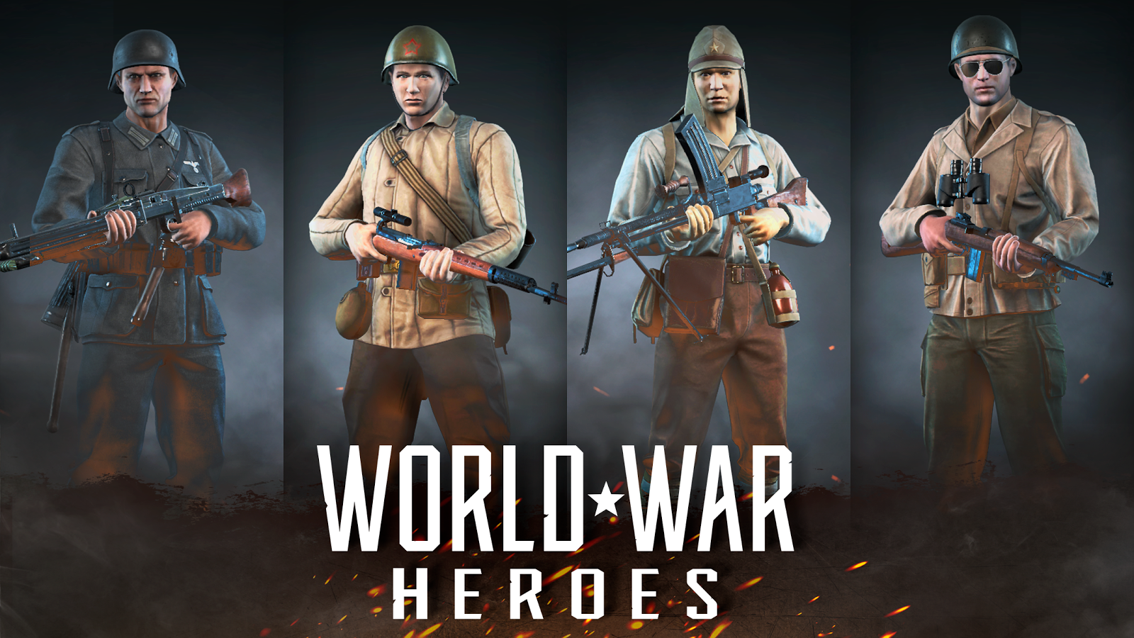 World War Heroes: WW2 FPS Shooting games!  poster