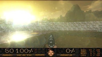 Screenshot of D-GLES Demo (Doom source port)