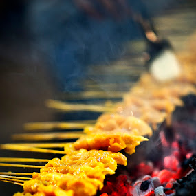 Satay by Mohamad Sa'at Haji Mokim - Food & Drink Cooking & Baking