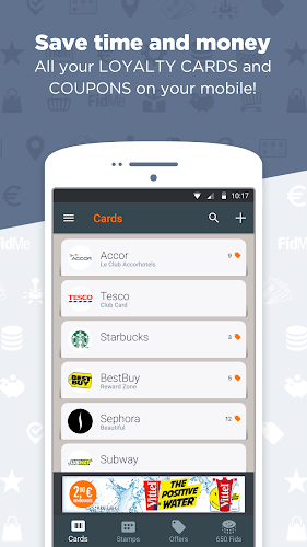 FidMe Loyalty Cards & Deals at Grocery Supermarket Android App Screenshot