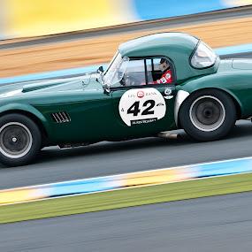 Le Mans Classic 2012 by Pascal Aunai - Sports & Fitness Motorsports ( motor legend, motors, 24h du mans, auto racing, vintage car, ac, le mans classic, le mans, cobra, lmc )