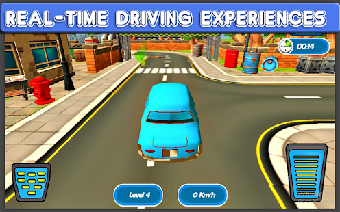 City Cartoon Car Racer - screenshot
