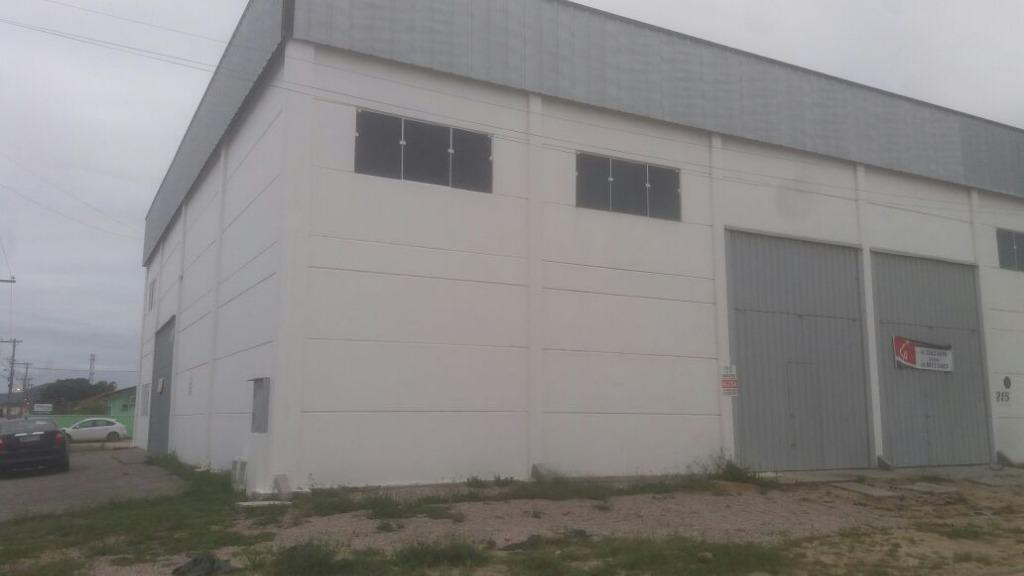 Galpão comercial para locação, Centro, Tijucas.