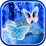 Abstract Butterflies Wallpaper Icon