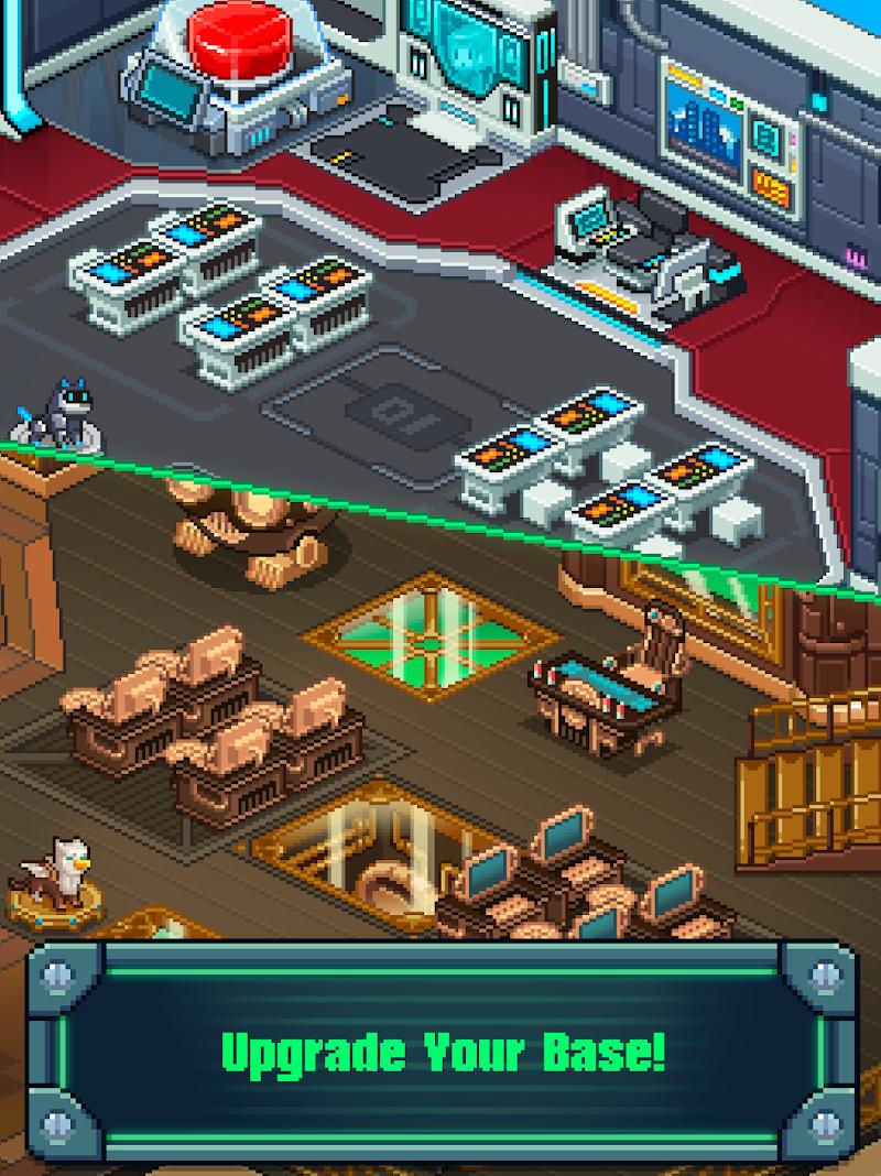 Tap Tap Evil Mastermind - Pixel Idle Clicker Screenshot 7