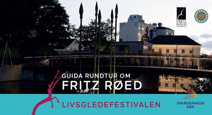 Om Fritz Røed, guida rundtur og quiz