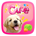 App (FREE) GO SMS CUTE STICKER apk for kindle fire