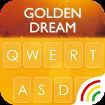 Gold RainbowKeyboard Theme Icon