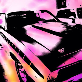 My Car by Carrie Cadenas - Digital Art Things ( charger )