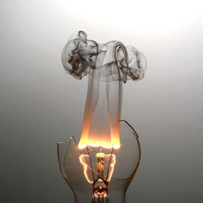 the Burning Bulb.... by Baron Danardono Wibowo - Artistic Objects Other Objects