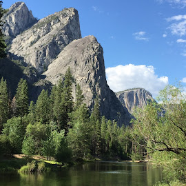 There Brothers Yosemite Valley by Mary Malinconico - Instagram & Mobile iPhone ( mountains, yosemite )