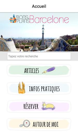 Les Bons Plans de Barcelone - screenshot