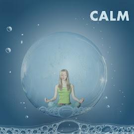 calm by Dushyant Idhatiya - Digital Art People