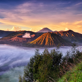 Mount Bromo by Hendri Suhandi - Landscapes Travel ( mountain, indonesia, east java, sunrise, travel, bromo )