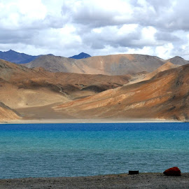 Colours of Pangong by Monami Das - Novices Only Landscapes