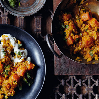 Red-lentil And Pumpkin Dahl