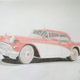 Chevrolet  by Reagan Muriuki - Drawing All Drawing