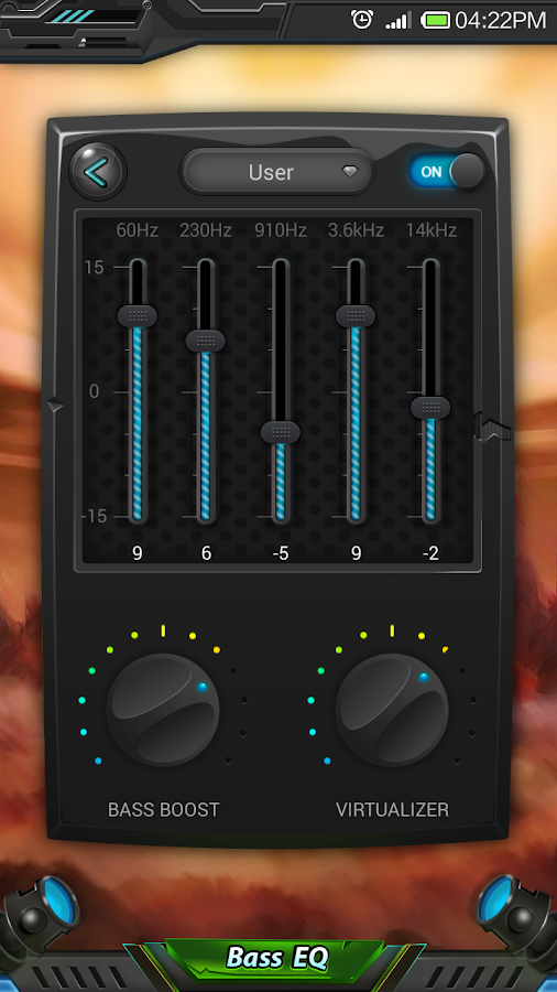 Equalizer & Bass Booster Pro Screenshot 2