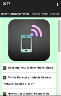 Boost Mobile Network - screenshot