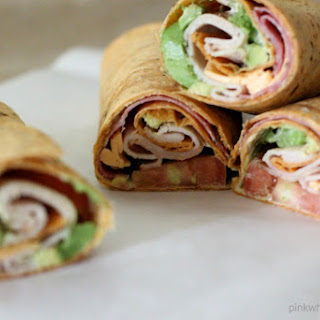 Avocado Ranch Turkey Tomato Cheese Wrap