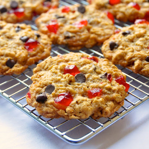 Coconut Oatmeal Cookies with Dried Cherries Recipe | Yummly